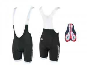 Pantaloni scurti cu bazon si bretele Force B40 XL