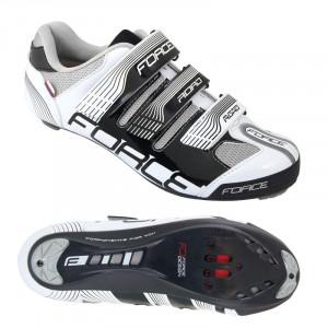 Pantofi Force Road negru/alb 40