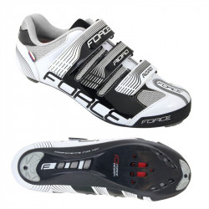 Pantofi Force Road negru/alb 42