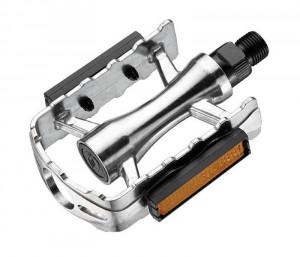 Pedale Union SP-610 aluminiu argintii filet 9/16
