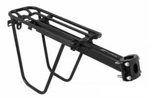 Portbagaj aluminiu Force 24-29 cu laterale si clema negru