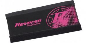 Protectie Reverse pentru cadru neopren negru/roz