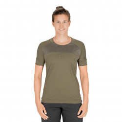 TRICOU CICLISM CUBE AM WS ROUND-NECK S/S Olive