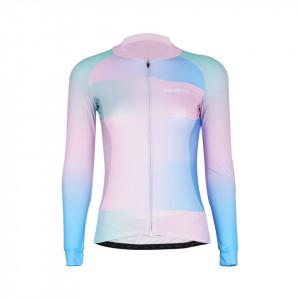 Tricou Ciclism Lady DAREVIE Albastru/Roz L