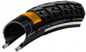 Anvelopa Continental Ride Tour Reflex Puncture-ProTection 32-622 negru/negru 700X32C