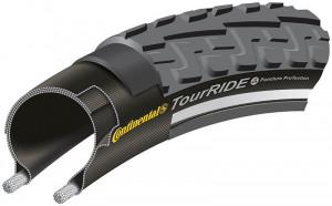Anvelopa Continental Ride Tour Reflex Puncture-ProTection 42-622 (28*1.6) negru/negru