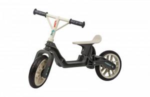 Bicicleta Copii Polisport Bb Gri Crem 12 Inch, fara pedale, ergonomica, abtibilde