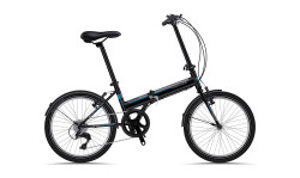 Bicicleta Sprint Traffic 20 Pliabila Negru Mat 2019