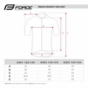 Bluza Copii Force Square Fluo-Roz 128-140 cm