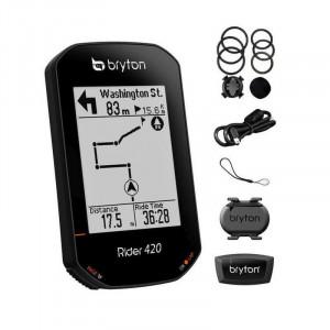 Ciclocomputer bicicleta BRYTON RIDER 420E GPS