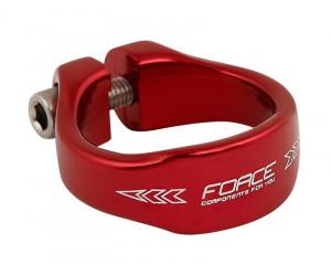 Colier Force 34.9 mm al. rosu