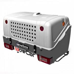 Cutie portbagaj pe carligul de remorcare Towbox V1 DOG Gri