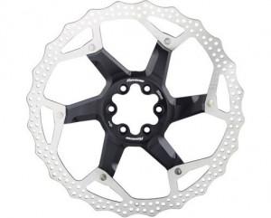 Disc frana Reverse Discrotor 203mm aluminiu/otel negru
