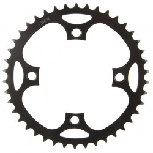 Foaie Angrenaj Metal E-Bike 46T M-WAVE BCD 104 1/2×3/32″ si 1/2×11/128″
