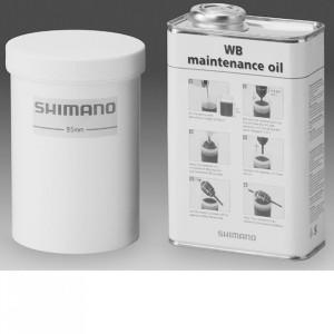 Kit SHIMANO Mentenanta Butuci Canistra 1 L + Recipient