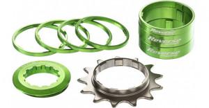 Kit single speed Reverse 13T verde
