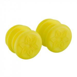 Mansoane SUPACAZ Siliconez - galben neon