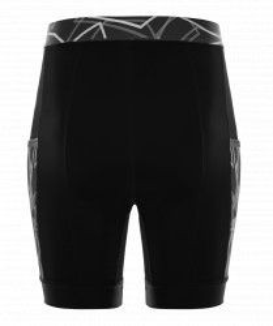 Pantaloni alergare FUNKIER Paduli-2 - Negru 2XL