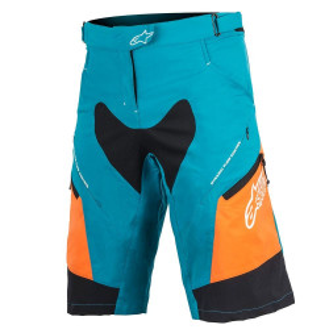 Pantaloni Alpinestar Stella Drop 2 ocean/bright orange 30