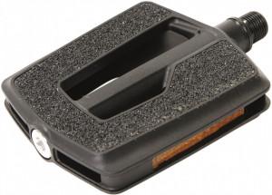 Pedale CONTEC Quick Deluxe+ rulmenti 342g - negru
