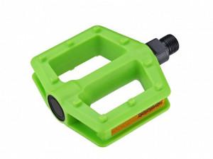 """Pedale plastic Copii AUTHOR APD-522-Junior Verde Neon 9/16"""""""
