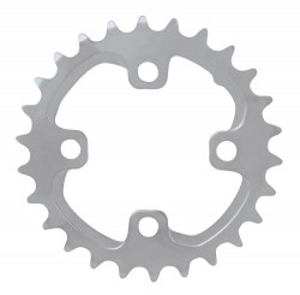 Placa pedalier Shimano FCM785 26 dinti argintie