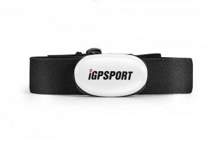 Senzor puls iGPSPORT HR40 alb
