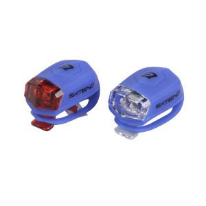 Set Flash cu Baterii EXTEND FROGGIES Albastru
