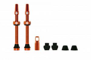 Valve Tubeless Muc-Off Presta MTB 60mm Portocalii