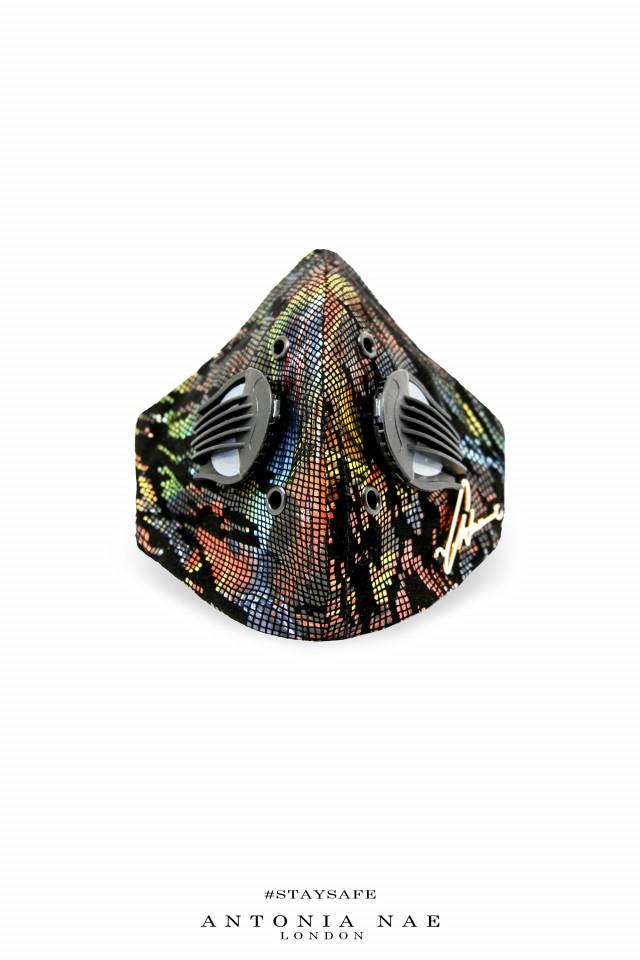 Mască din piele Jungle
