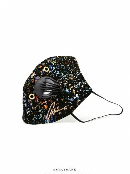 Stellar leather face mask