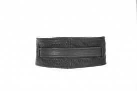 BONCUK CUT LEATHER WIDE BELT