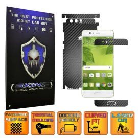 Huawei P10 - Carbon Skin, Full Body Case Cover Protector, Decal Sticker Wrap