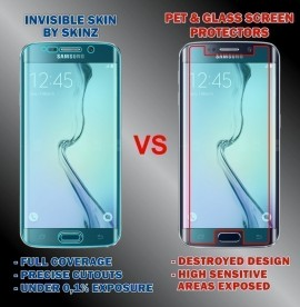 Samsung Galaxy S9 - Curved Self Healing Screen Protector + Full Body Invisible Shield,Skin Cover Wrap images
