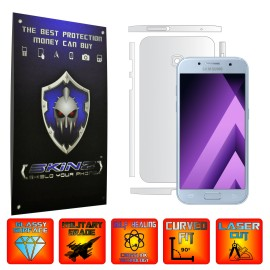 Samsung Galaxy A3 2017 - Curved Self Healing Screen Protector + Full Body Invisible Shield,Skin Cover Wrap