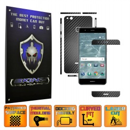 Huawei P10 Lite - Carbon Skin, Full Body Case Cover Protector, Decal Sticker Wrap