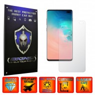 Samsung Galaxy S10+ Plus - Ultra Clear or Matte Self Healing Screen Protector, Full cover of the curved glass ( Edge to Edge or Case Friendly Cut )