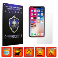 Apple iPhone X - Curved Self Healing Screen Protector + Full Body Invisible Shield,Skin Cover Wrap