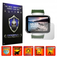 Smartwatch Lemfo LEM4 - 2 X Self Healing Screen Protector, Full cover of the glass ( including the edge )