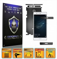 Huawei Ascend P9 + Plus - Carbon Skin, Full Body Case Cover Protector, Decal Sticker Wrap