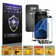 Samsung Galaxy S7 Edge - Carbon Skin, Full Body Case Cover Protector, Decal Sticker Wrap