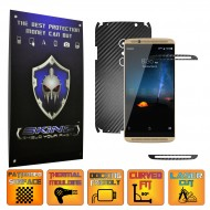 ZTE Axon 7 - Carbon Skin, Full Body Case Cover Protector, Decal Sticker Wrap