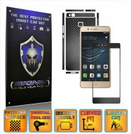 Huawei Ascend P9 Lite - Carbon Skin, Full Body Case Cover Protector, Decal Sticker Wrap