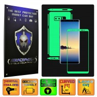 Samsung Galaxy Note 8 - Glow in the Dark Skin,Full Body Shield,Case Cover Protector,Decal Sticker Wrap