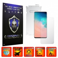 Samsung Galaxy S10 - 360° Cut - Ultra Clear or Matte Curved Self Healing Screen Protector + Full Body Shield,Skin Case Wrap, Full cover of the curved glass ( Edge to Edge or Case Friendly Cut )