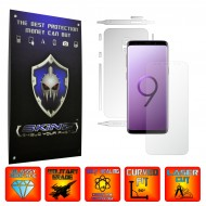 Samsung Galaxy S9 - Curved Self Healing Screen Protector + Full Body Invisible Shield,Skin Cover Wrap
