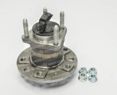 Butuc cu rulment roata spate Opel Astra H, model cu 5 prezoane, senzor ABS integrat WAHLBERG