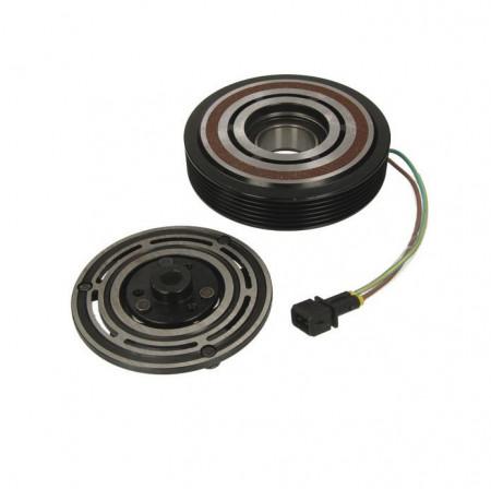 Set bobina, fulie si ambreiaj compresor A/C SANDEN SD7V16 6pk 126mm - VW LT 28-35 II, LT 28-46 II, TRANSPORTER IV 2.4D-2.8D 07.90-07.06
