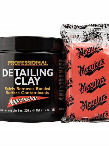 PLASTELINA CURATARE DEPUNERI SUPRAFETE AGRESIVA , 200 G,DETAILING CLAY - MEGUIARS