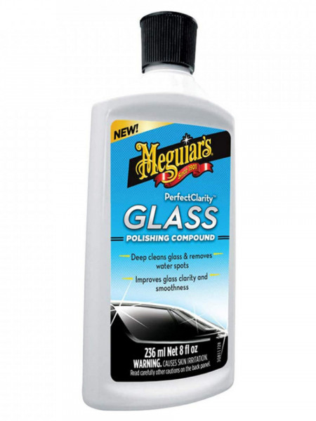 SOLUTIE POLISH, 235 ML, PERFECT CLARITY GLASS - MEGUIARS